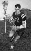Jim Lewis - Navy All-American Lacrosse Attackman - 1966 file photo Top 10 Lacrosse Legends