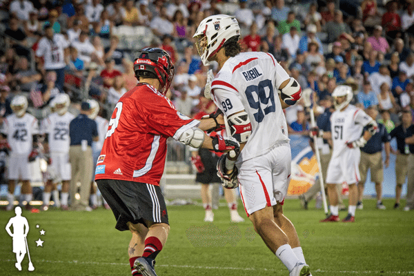 Canada vs United States 2014 World Lacrosse Championship Gold Medal Game lacrosse lines