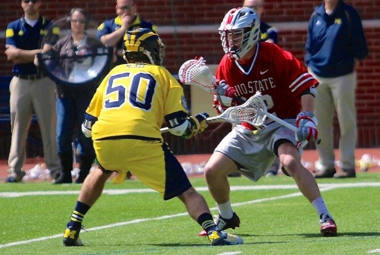 Ohio State vs Michigan 2015 BIg Ten Lacrosse Photo Credit: Molly Tavoletti