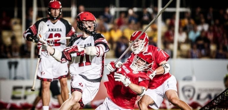 canada england 2018 FIL World Lacrosse Championships top photos blue group