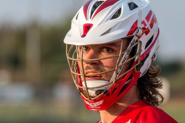 Mads Headegar Story of a Danish Helmet: A Complete Team Effort Denmark Lacrosse top photos yellow group