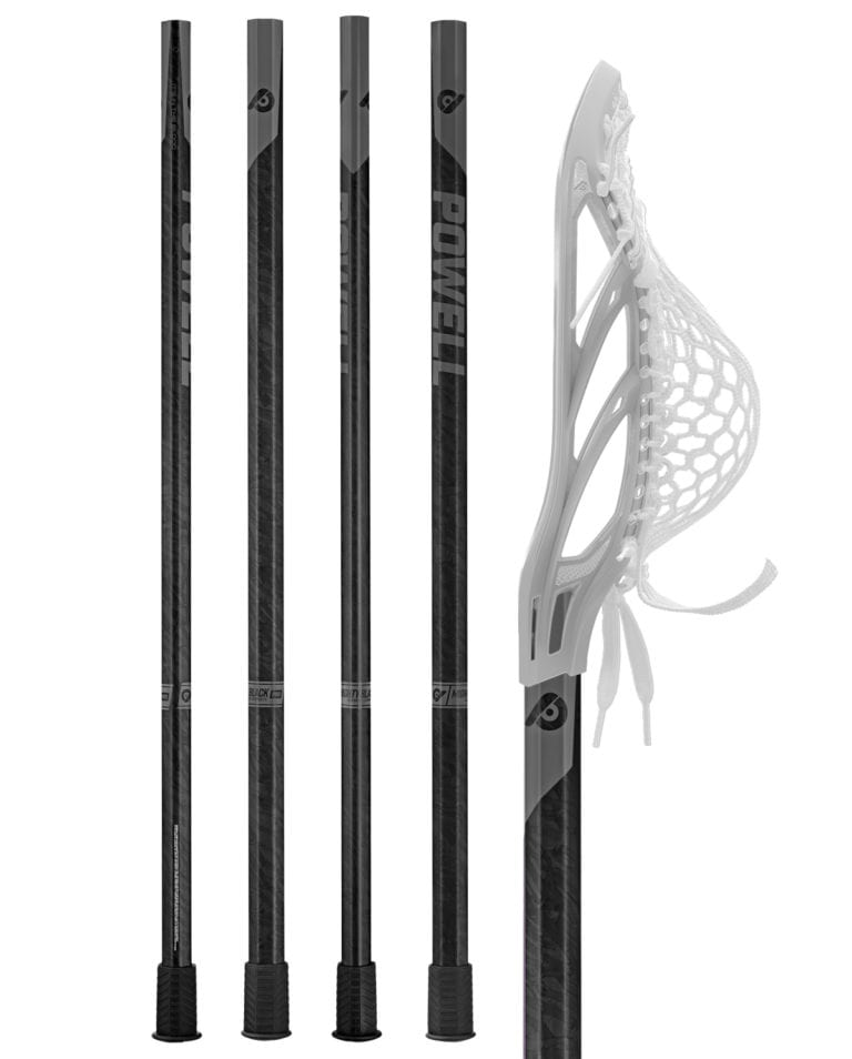 Mighty Black Pro Complete Lacrosse Sticks