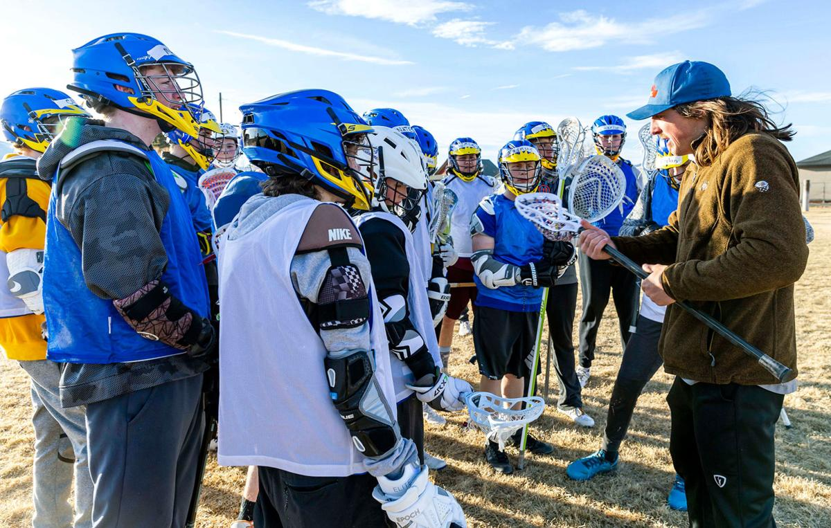 learning lacrosse from a pro: mikie schlosser